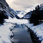 Lake Louise in February by Yukondick