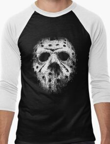 Hockey mask Men's Baseball ¾ T-Shirt