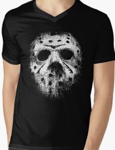 Hockey mask Mens V-Neck T-Shirt