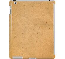 Vintage beige mottled paper iPad Case/Skin