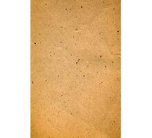 Vintage beige mottled paper Photographic Print