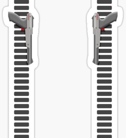 NES Zapper Leggings by Jango Snow Sticker
