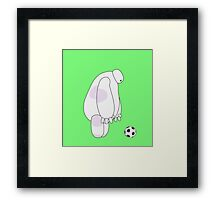 Big Hero 6 - Baymax (Green) Framed Print