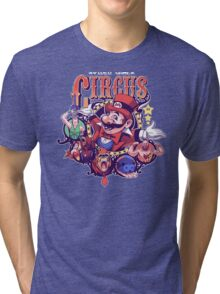 Video Game Circus Tri-blend T-Shirt