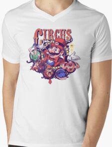 Video Game Circus Mens V-Neck T-Shirt