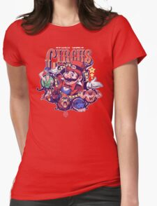 Video Game Circus Womens Fitted T-Shirt