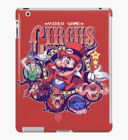 Video Game Circus iPad Case/Skin