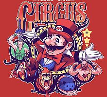 Video Game Circus by KindaCreative
