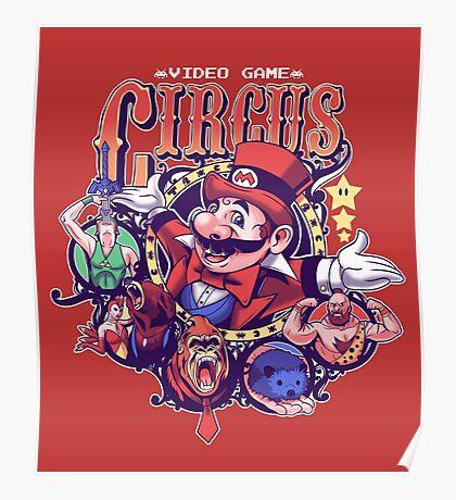 Video Game Circus Poster