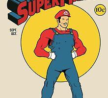 SUPER MARIO COMIC by Akiwa