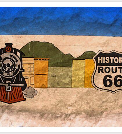 historic route 66 Sticker