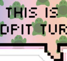 this is sandpit turtle v2.0  Sticker