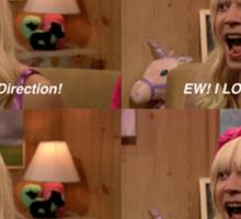 EW! One Direction Sticker