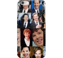 Benedict Cumberbatch Smile  iPhone Case/Skin