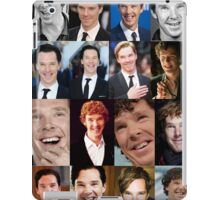 Benedict Cumberbatch Smile  iPad Case/Skin