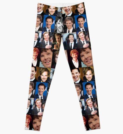 Benedict Cumberbatch Smile  Leggings