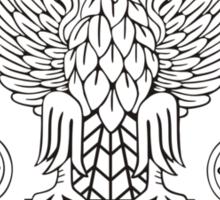 Polish Air Force's Eagle Insignia Sticker