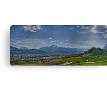 Looking at Innsbruck Canvas Print