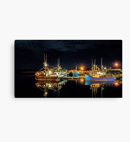 Fishing Hamlet Canvas Print