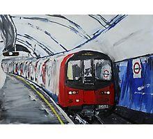 London Underground Northern Line Subway Train Acrylics Photographic Print