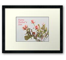 Pink Softness (Mother's Day)  Framed Print