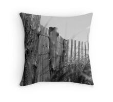 Lonely Calm Throw Pillow
