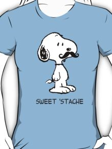 Snoopy Mustache T-Shirt
