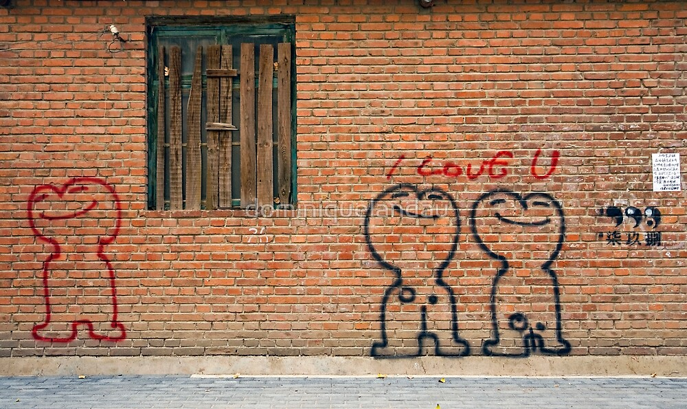 Love graffiti by dominiquelandau