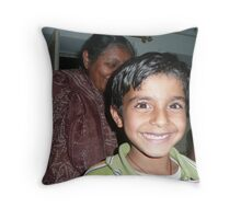 Child of India Throw Pillow
