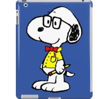 Snoopy nerd iPad Case/Skin