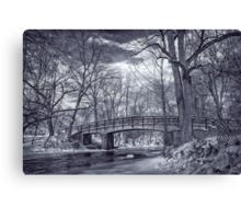 Rock Creek Park Bridge in Winter Canvas Print