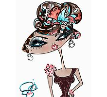 Gorgie Galor Doll Art Illustration Photographic Print