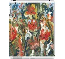 Abstract Tulips iPad Case/Skin