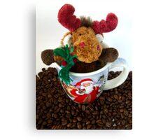 Christmas Coffee Canvas Print