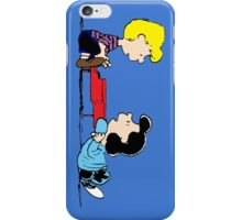Lucy and Schroeder Peanuts iPhone Case/Skin