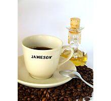 Whiskey n Coffee Photographic Print