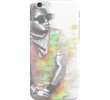 Lupe Fiasco Grey Splash iPhone Case/Skin