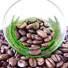 A glass of coffee by TriciaDanby