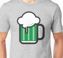 Green Beer Icon Unisex T-Shirt