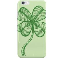 Lucky clover iPhone Case/Skin