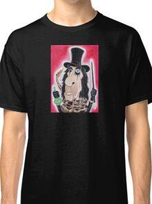 Rock Metal Legend Caricature Drawing Classic T-Shirt