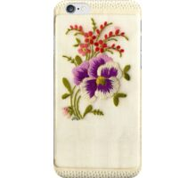 Beautiful Vintage Greeting Card iPhone Case/Skin