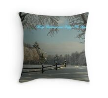 Winter Wonderland Christmas Throw Pillow
