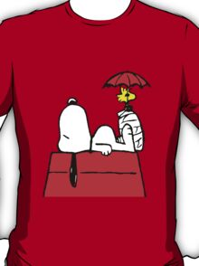 Woodstock with Snoopy T-Shirt