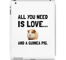 Love And A Guinea Pig iPad Case/Skin