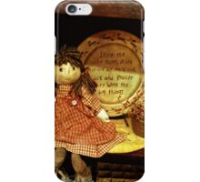 The little things are the big things iPhone Case/Skin