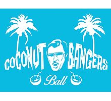 Coconut Bangers Ball Photographic Print
