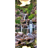 'Oheo Twilight, Kipahulu, Maui Photographic Print