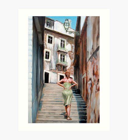 Fragrance of Lisbon Art Print