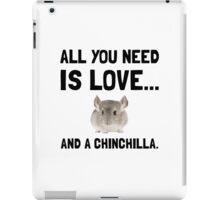 Love And A Chinchilla iPad Case/Skin